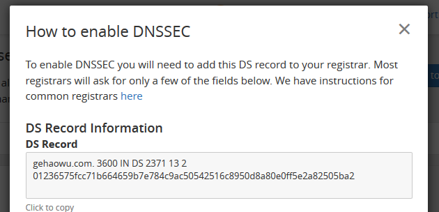 How to enable DNSSEC